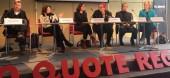 Die Gerechtigkeit zwischen den Geschlechtern wird in der Branche diskutiert. Auf der Berlinale rief die Initiative Pro Quote Regie für einen stärkeren Anteil von Frauen in der Filmwelt. Doch die Erkenntnisse finden nur schwer vom Podium in die Wirklichkeit. | Foto © Pro Quote Regie