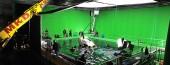 Aufwendige Greenscreen-Aufnahmen in Babelsberg. Manchen Filmschaffenden aber steht das Wasser bis zum Hals. Die Grünen wollen nun den Arbeits- und Produktionsbedingungen mehr Gewicht in Förderung und Filmpolitik geben. | Foto © Studio Babelsberg