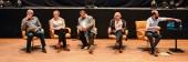 Auf dem Podium (von links):Martin Hagemann, Julia von Heinz, Alfred Holighaus, Claudia Dillman. | Foto © Klaus Redmann