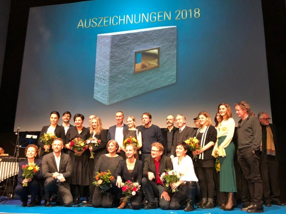 Die Preisträger der Auszeichnungen der Deutschen Akademie für Fernsehen 2018 - Foto: Steffi Henn - https://steffihennphotography.com/