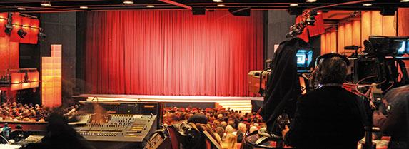 Es dauert zwar noch fast drei Jahre, bis sich der Vorhang öffnet, doch es wird bereits um die Neugestaltung der Filmförderung diskutiert. Foto:Sabine Felber